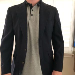 Navy men's blazer jacket Jos A Bank